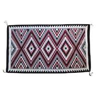 Navajo Adella R. Yazzie Eye Dazzler Rug / Weaving, Pinon, Arizona