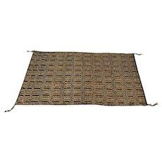 Handmade Navajo Diamond Twill Saddle Blanket