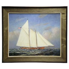 "20"" H x 24"" W- Original Oil on Canvas- Artist- D. Tayler"