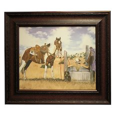 "20"" H x 24"" W LImited edition Giclee on Canvas #14/250-Title-""Hot Summer Day"" by Dale Adkins"