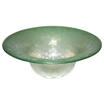 Louis Comfort Tiffany Favrile Glass Bowl