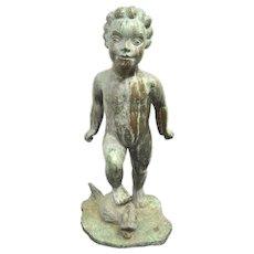 Wheeler Williams (1897-1962) Bronze Garden Fountain Sculpture