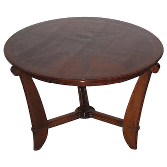 Maurice Champion (1889-1962) French Art Deco Rosewood Coffee or Cocktail Table