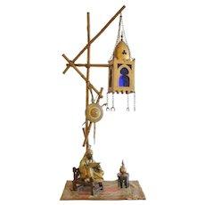 Antique Franz Bergman Orientalist Bronze Lamp