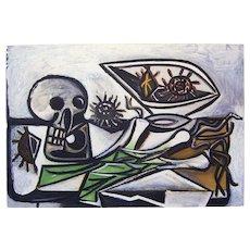 Still Life Aquatint by Picasso