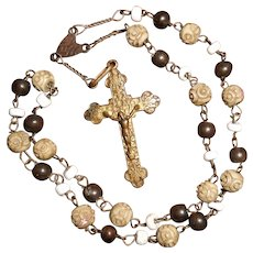 19th Century Saint Anthony Chaplet Rosary with Twelve Groups of Three Beads