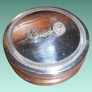 Christian Dior Mythological Silver Plated Box Designed by Maria Pergay, circa 1960