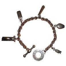 Givenchy Perfume Bottle Charm Bracelet