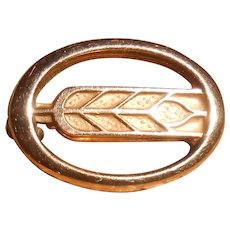 L G Balfour Company 10 Karat Gold Ear of Corn Pin