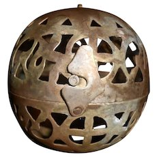 Moroccan Artisan Made Hanging Ball Lantern