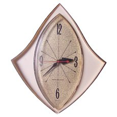 Vintage Kitchen Wall Clock General Electric, Model 2159, Works Perfectly!
