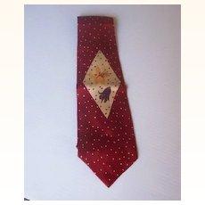Vintage Necktie, Men's Tie, Original Label, c. 1940's-50's