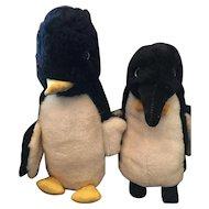 Two vintage Penguin Pals