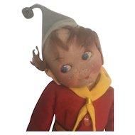 Noddy cloth doll vintage