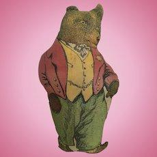 Early cloth teddy bear