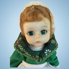 Vintage Irish Madame Alexander doll