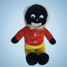 Golliwog with white hair