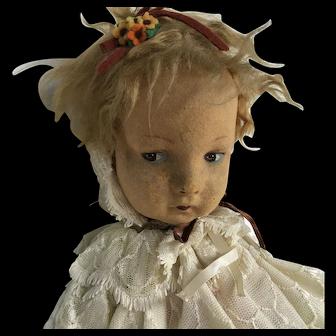 Early Alma Cloth Doll. 1920s-30s