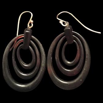 Antique Tortoiseshell Earrings