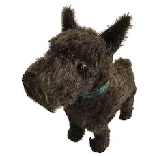 Terrier dog mohair vintage