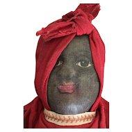 Antique Bruckner Topsy Turvy Cloth Doll