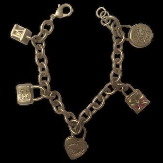 Vintage Tiffany & Co. Charm Bracelet