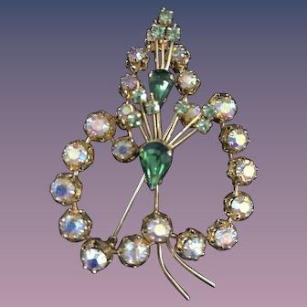 Austrian Crystal Pin - Big & Bold