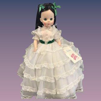 "Madame Alexander Vinyl 14"" Scarlett O'Hara Doll - 1960s"