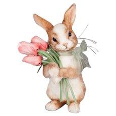 R. John Wright Tulip Bunny Rabbit Doll - Original Box