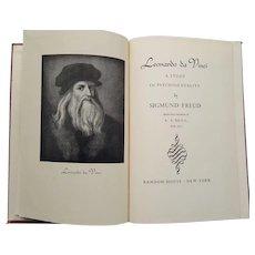 Leonardo da Vinci: A Study in Psychosexuality, First Printing 1947 - Red Tag Sale Item
