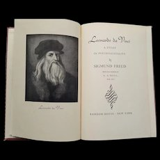 Leonardo da Vinci: A Study in Psychosexuality, First Printing 1947 - Red Tag Sale Item