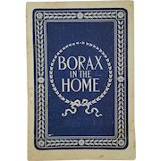 '1890' Pacific-Coast BORAX Company (PCB) advertising pamphlet ~ 'Borax in the Home'