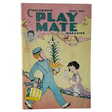Easter Edition ~ Children's PLAY MATE Magazine: For Boys and Girls ~ April 1950