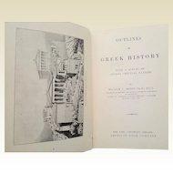 Outlines of Greek History ~printed 1903