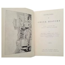 Outlines of Greek History ~printed 1903