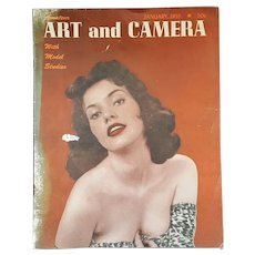 Jan. 1955 'Amateur Art and Camera Magazine' with Model Studies