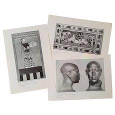 Pre-Greek Art ~ Greek & Roman Sculpture ~ RARE University Student Series ~ circa 1960