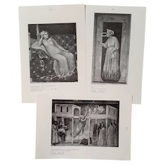 Early & Later Italian ART ~ RARE University Student Series ~ circa 1960