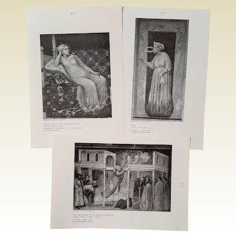 Early & Later Italian ART ~ RARE University Student Series ~ circa 1960