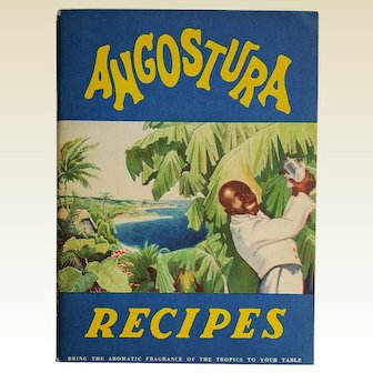 ANGOSTURA bitters ~ 1934 advertising Cocktail recipe booklet