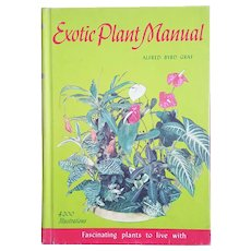Exotic Plant Manual: 4200 Illustrations ~ by Alfred Byrd Graf ~ 1974, HC
