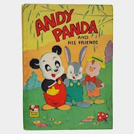 'Andy PANDA and His Friends' ~ 1949, HC ~ by Walter Lantz