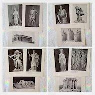 RARE c.1960 'Pre-Greek Art ~ Greek & Roman Sculpture' ~ University Student Series