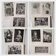 RARE c.1960 'Early & Later Italian ART' ~ University Student Series