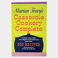 'Marian Tracy's Casserole Cookery Complete' 350 recipes ~ mid-century cookbook