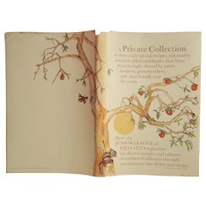 A Private Collection: Junior League of Palo Alto ~Cookbook ~1981