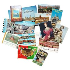 '1969' European Postcards & Ephemera ~ LARGE Collection ~ Art Museums, Churches, + more