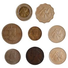 Hong Kong COINS collection ~ years 1865 thru 1997