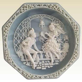 CARMEN ~ Sapphire INCLOY Stone ~ 'Love Themes from the Grand Opera' series collector plate
