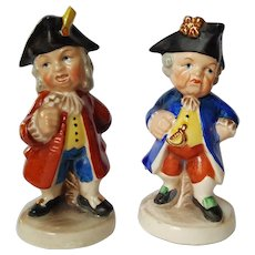 Baroque Era French Statesmen fairing Figurines ~ early 1939-1949 Goebel ~ E&R co. Germany